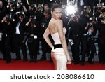 cannes  france   may 18 ... | Shutterstock . vector #208086610