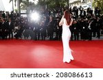cannes  france   may 21 ... | Shutterstock . vector #208086613