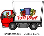 food drive | Shutterstock .eps vector #208111678