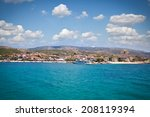 panoramic view on ouranoupolis... | Shutterstock . vector #208119394