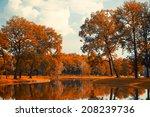 autumn lake   Shutterstock . vector #208239736