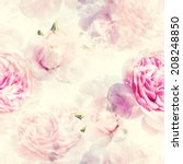photo and watercolour seamless... | Shutterstock . vector #208248850