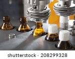 pharmaceutical production line | Shutterstock . vector #208299328