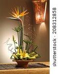 Arrangement Of Fresh Flowers