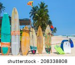 weligama  sri lanka   march 5 ... | Shutterstock . vector #208338808