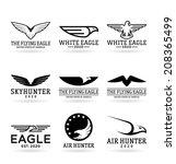 eagles  16    Shutterstock .eps vector #208365499