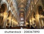 paris  france   march 12 ... | Shutterstock . vector #208367890