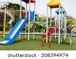 children playground | Shutterstock . vector #208394974