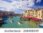 Grand Canal. Venice. Italy.