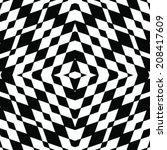 vector seamless pattern. modern ... | Shutterstock .eps vector #208417609