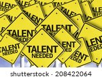 Постер, плакат: Talent Needed written on