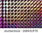 an image of hologram | Shutterstock . vector #208431970