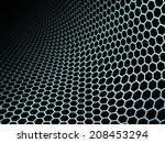 abstract honeycomb  pattern...