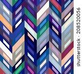 color abstract retro  striped... | Shutterstock . vector #208520056