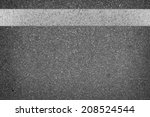 white line on road texture   Shutterstock . vector #208524544