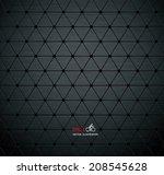 carbon metallic textures...   Shutterstock .eps vector #208545628