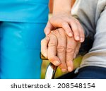 conceptual image   support for... | Shutterstock . vector #208548154