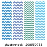 Zig Zag Chevron Pattern Set....
