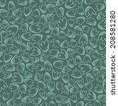 seamless pattern of small... | Shutterstock . vector #208581280