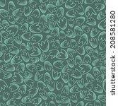 seamless pattern of small... | Shutterstock . vector #208581280