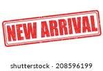 new arrival grunge rubber stamp ... | Shutterstock .eps vector #208596199