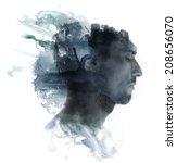 paintography. meditative... | Shutterstock . vector #208656070