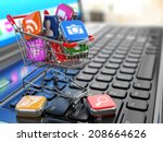 store of laptop software. apps... | Shutterstock . vector #208664626
