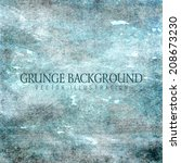 grunge vector background | Shutterstock .eps vector #208673230