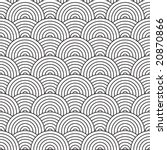 seventies inspired artex design ... | Shutterstock . vector #20870866