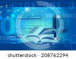 e learning | Shutterstock . vector #208762294