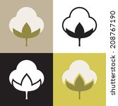 four variations of vector... | Shutterstock .eps vector #208767190