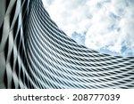 modern urban architecture.... | Shutterstock . vector #208777039