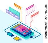 smartphone vector infographics  ...