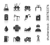 oil industry gasoline... | Shutterstock .eps vector #208782376