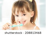Dental Hygiene. Happy Little...