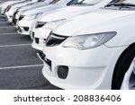 Stock photo city cars 208836406