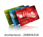 Multiple Credit Cards Isolated...