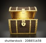 Glowing Treasure Chest Full Of...