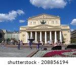 moscow   july 26  2014  bolshoi ... | Shutterstock . vector #208856194