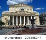 moscow   july 26  2014  bolshoi ... | Shutterstock . vector #208856344