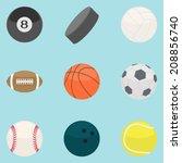 flat modern design vector... | Shutterstock .eps vector #208856740