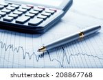 business and financial concept | Shutterstock . vector #208867768