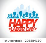 Happy Labor Day Design With...