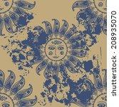 pattern in ethnic style   | Shutterstock .eps vector #208935070