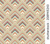 seamless pattern. geometric... | Shutterstock .eps vector #208945243