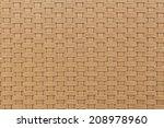 Weave Plastic Wicker Pattern...