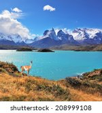 Постер, плакат: Neverland Patagonia Emerald Lake