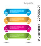 modern design template  can be... | Shutterstock .eps vector #209000104