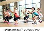 fitness  sport  training  gym... | Shutterstock . vector #209018440