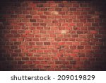 Brick Wall Background Or...
